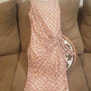 Mango sleeveless dress